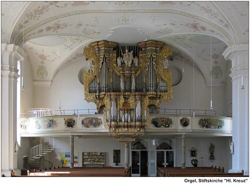 Horb: Stiftskirche, Orgel