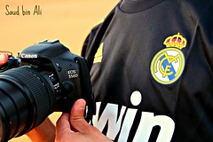 With Love Real Madrid and Canon (Sud Bin Ali   ) Tags: picnik