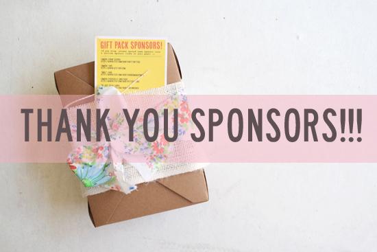 gift pack sponsors