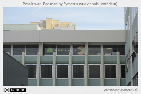 Post it war: vue extérieure