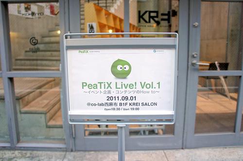 PeaTiX Live! Vol.1
