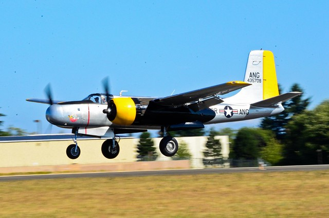 VAW arrivals 1944 Douglas A-26C Intruder N26PJ