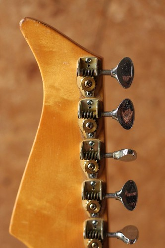 Yamaha SG-2 removed machine head cover