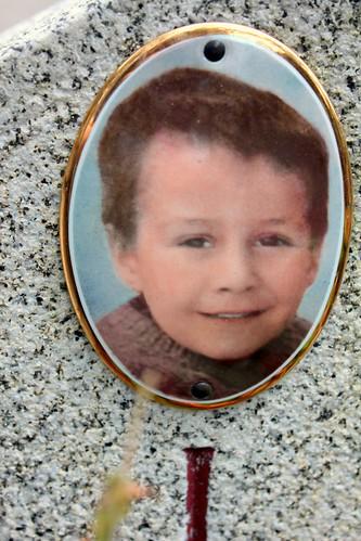 A little Scalawag - Photo Ceramic of a Boy