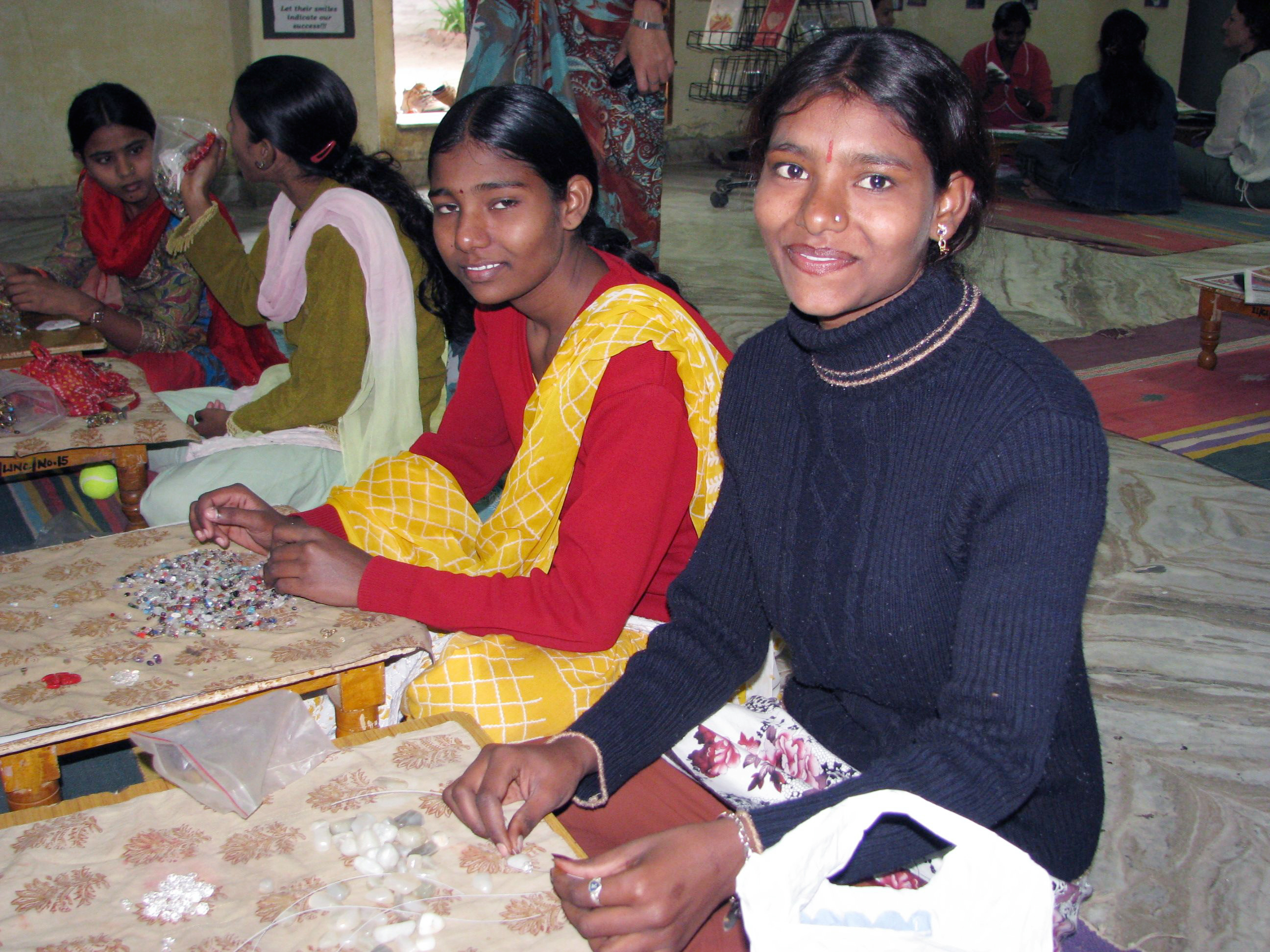 Orphaned Girls at Ladli