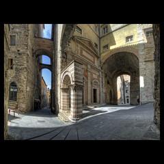 Perugia & fisheye (R.o.b.e.r.t.o.) Tags: italy italia pg roberto perugia umbria nikond700 maestdellevolte sigmafisheye15mm hdr9raw vetustaperusia