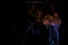 Coloured smoke (Rafael Llesta) Tags: borderfx