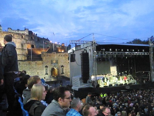 Arcade Fire Edinburgh  Castle