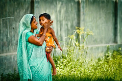 Streets of Dhaka : Taming the future (Shutterfreak ☮) Tags: life street people girl daylight affection quote candid conceptual grandparent