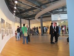 Murray Ballard  'The Prospect of Immortality' Exhibition Opening (impressions_gallery_bradford) Tags: cryonics murrayballard impressionsgallery gentlemenofbradford theprospectofimmortality