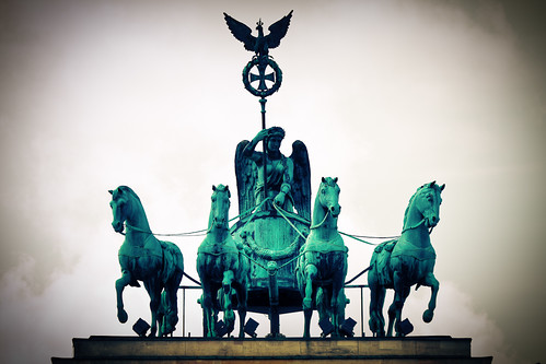 "quadriga at ""Brandenburger Tor"""
