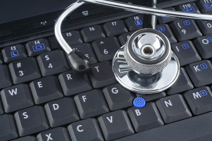 laptop and stethoscope by jfcherry, on Flickr