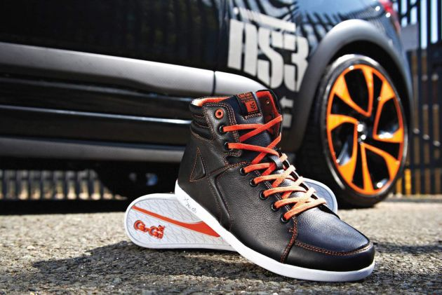 CITROËN & GIO-GOI CREATE LIMITED EDITION DS3 RACING INSPIRED FOOTWEAR