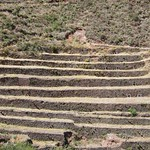 "Terraces below Pisaq <a style=""margin-left:10px; font-size:0.8em;"" href=""http://www.flickr.com/photos/14315427@N00/6125321828/"" target=""_blank"">@flickr</a>"