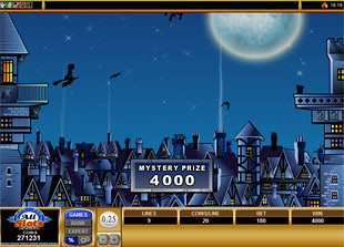 free Witches Wealth bonus game 3