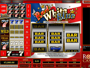 Red White Blue 3 Lines slot game online review