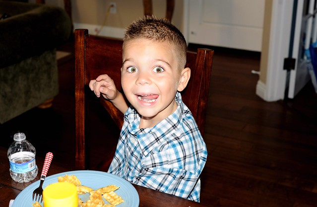 First Day of First Grade-Breakfast
