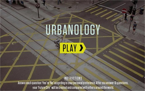 opening slide for Urbanology online (by: BMW Guggenheim Lab)
