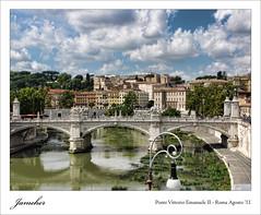 Vistas de Roma desde el castillo