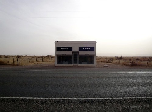 Prada Marfa. Art Installation. West Texas.