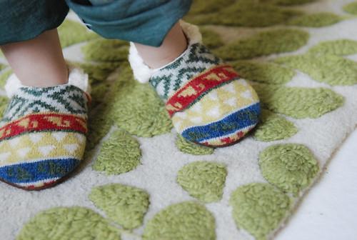 Finn's slippers