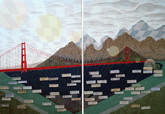 San Francisco Fortune, Acrylic on Canvas 2010