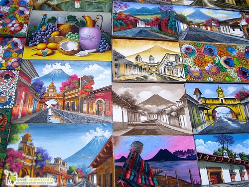 Typical Guatemalan Paintings