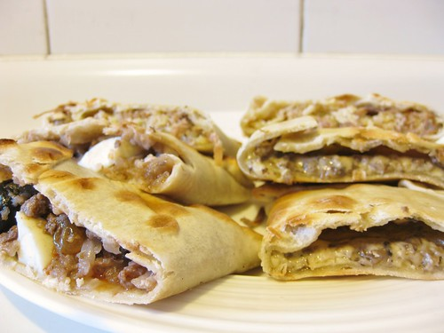 Empanada fillings
