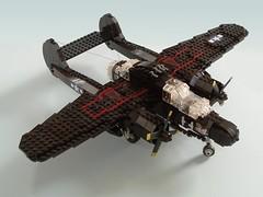 P-61B Black Widow (2) (Mad physicist) Tags: lego military wwii blackwidow northrop p61 nightfighter p61b