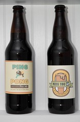 ping pong pale ale and mess you up wheat