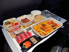 Lufthansa Hot Dinner - Pasta Meal