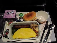 Lufthansa Hot Breakfast