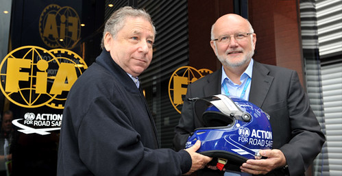 Jean Todt and Marcel Lejeune