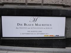 Blaue Mauritius DSC00875 (nb-hjwmpa) Tags: berlin blauemauritius reichspostmuseum philaterie