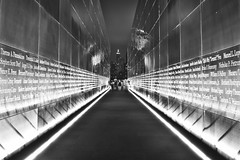 Remembering the Fallen (Moniza*) Tags: world city nyc usa ny newyork night america port liberty newjersey nikon memorial jerseycity downtown cityscape god manhattan nine 911 nj 9 center 11 explore wtc gothamist september11 trade eleven bless liberte tributeinlight libertystatepark gothamcity thebigapple d90 freedomtower explored emptysky moniza photographerschoice~halloffame