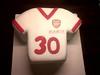 Awesome Cakes UK - Arsenal T-Shirt Cake (Awesome Cakes UK) Tags: weddingcakes noveltycakes sugarmodelling photocakes awesomecakesuk