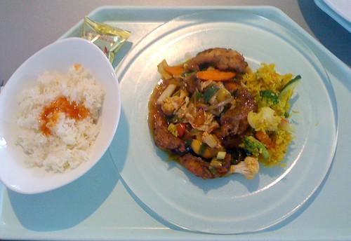 Chu Chi Pla - Fisch süß-sauer / Fish sweet sour