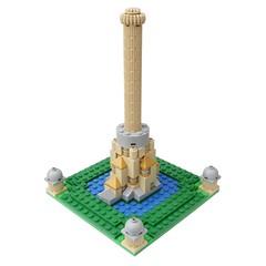 Anglų lietuvių žodynas. Žodis Tower of Babel reiškia Babelio bokštas lietuviškai.