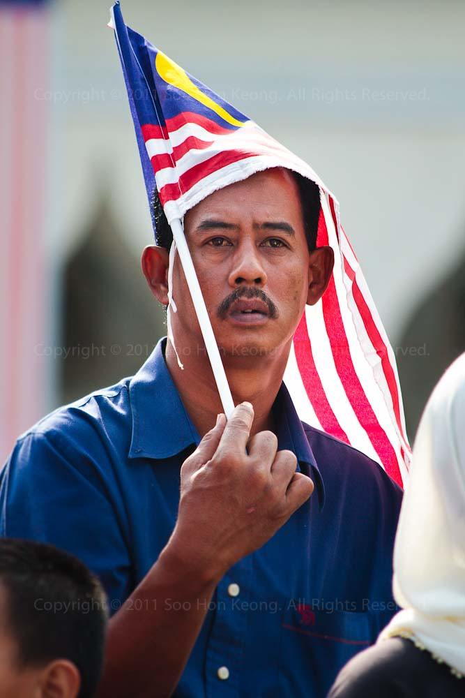 I wish Malaysia will be Really be One @ Malaysia Day Celebration, Dataran Merdeka, KL, Malaysia