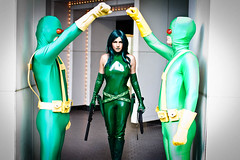 Dragoncon (Anna Fischer) Tags: costumes comics dc costume comic dragon cosplay super comicbook latex cosplayer marvel viper hydra con dragoncon pvc vinly