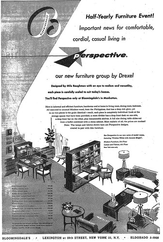Drexel Perspective by Milo Baughman