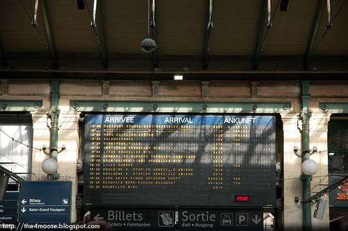 Gare du Nord - Arrivals
