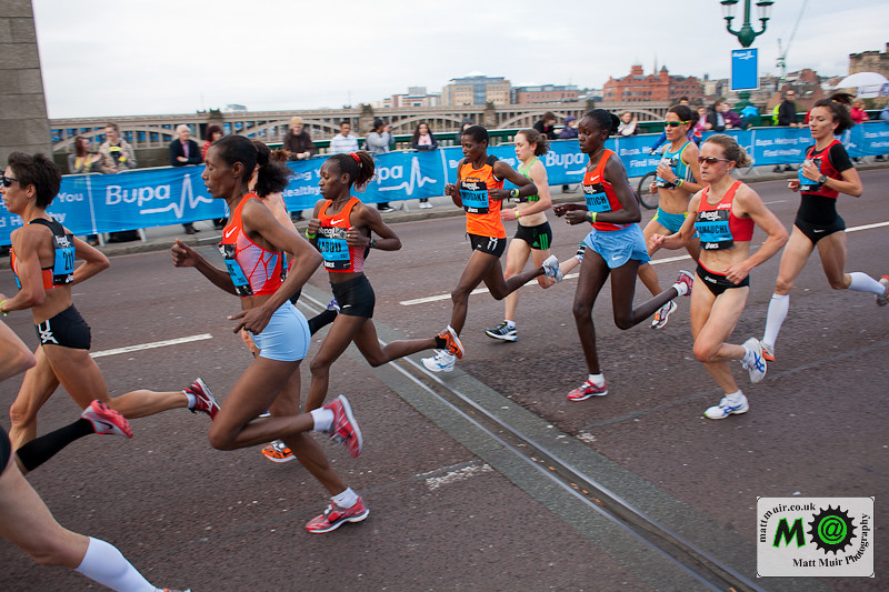 Photo ID 22 - Bupa Great North Run 2011, Elite Women