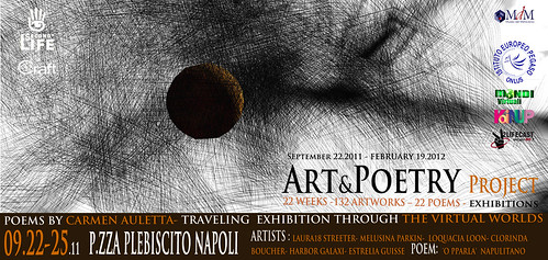 Art&Poetry first exhibition