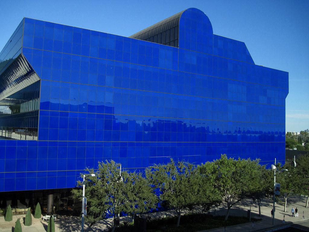 The Original Blue Building of the Pacific Design Center - 10/02/11