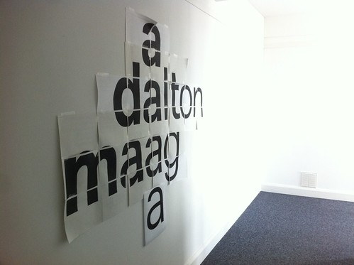 Visit to Dalton Maag's office