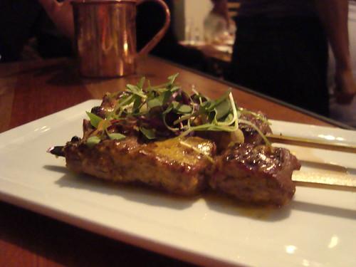 Beef Filet Anticuchos @ Picca Peru