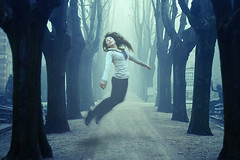 Z is for Zero gravity (CI !) Tags: girl fly flying jump cementerio gravity perspectiva z zero