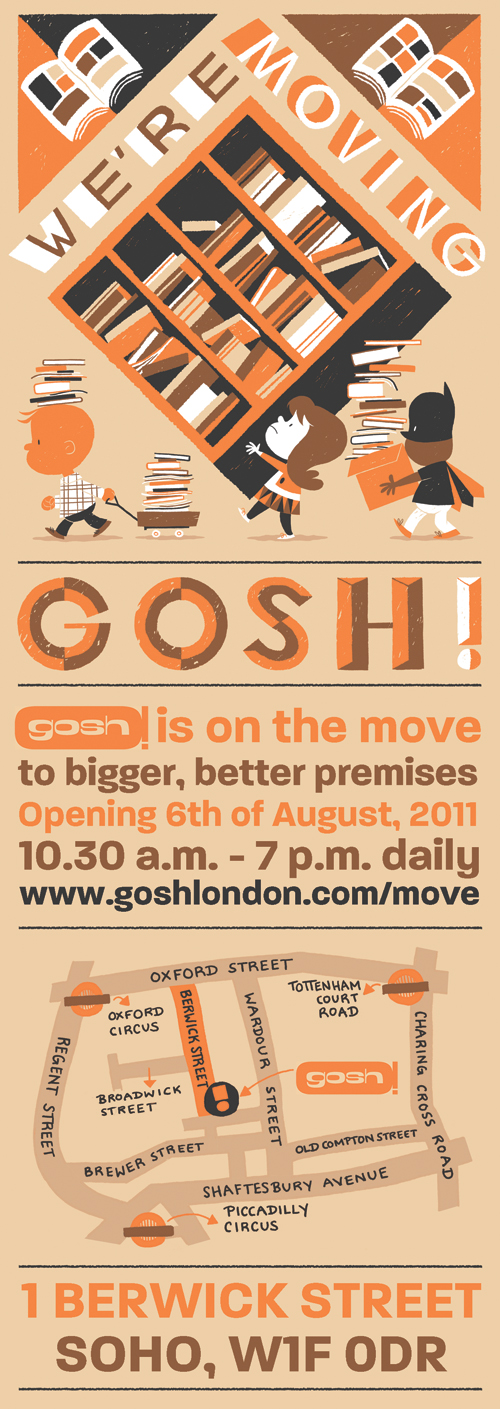 gosh london are moving