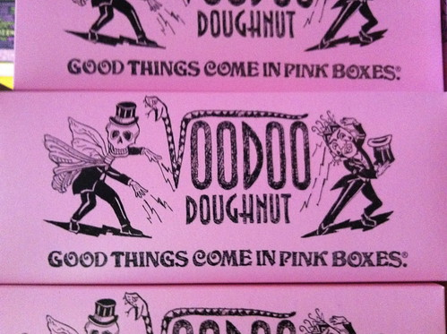 Good things come in pink boxes indeed